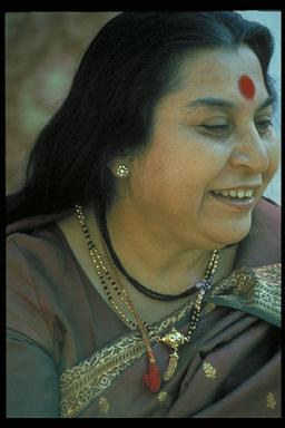 Shri Mataji, founder of Sahaja Yoga