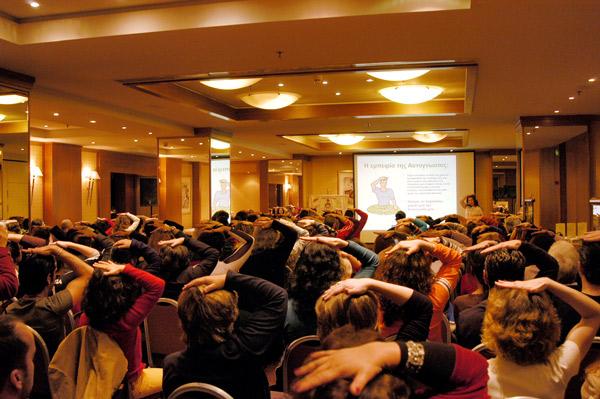Sahaja Yoga self-realisation in Greece
