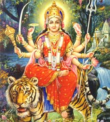 Shri Durga, the Devi